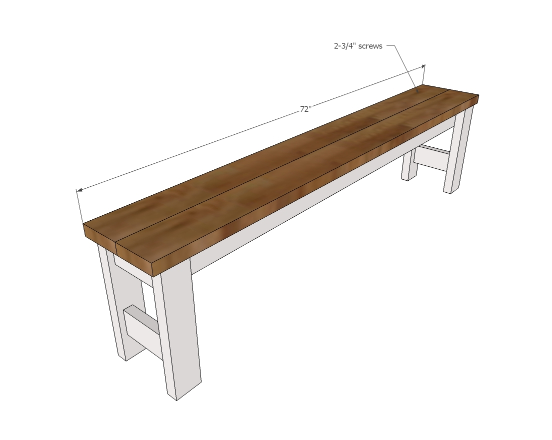 designs woodworking wooden plans projects backless wood outdoor quick bench free simple