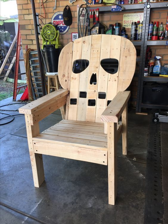 Skull Adirondack Chair Ana White