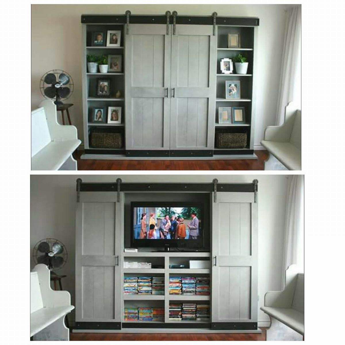 in furniture stylish home tv concept applied armoire open madison hutch kate to corner doors with your