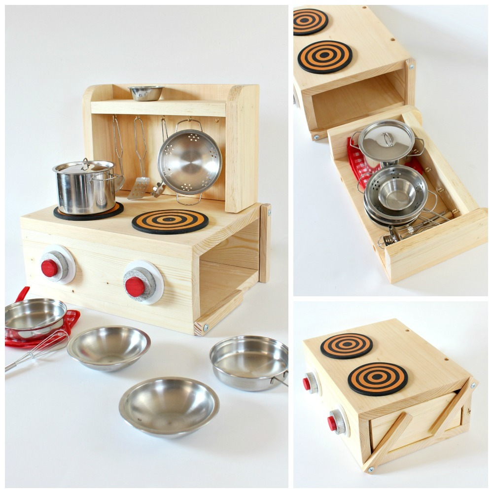 Tabletop Play Kitchen