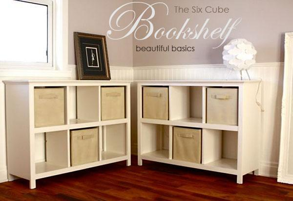 Ana White | Build a 6 Cube Bookshelf | Free and Easy DIY Project and ...
