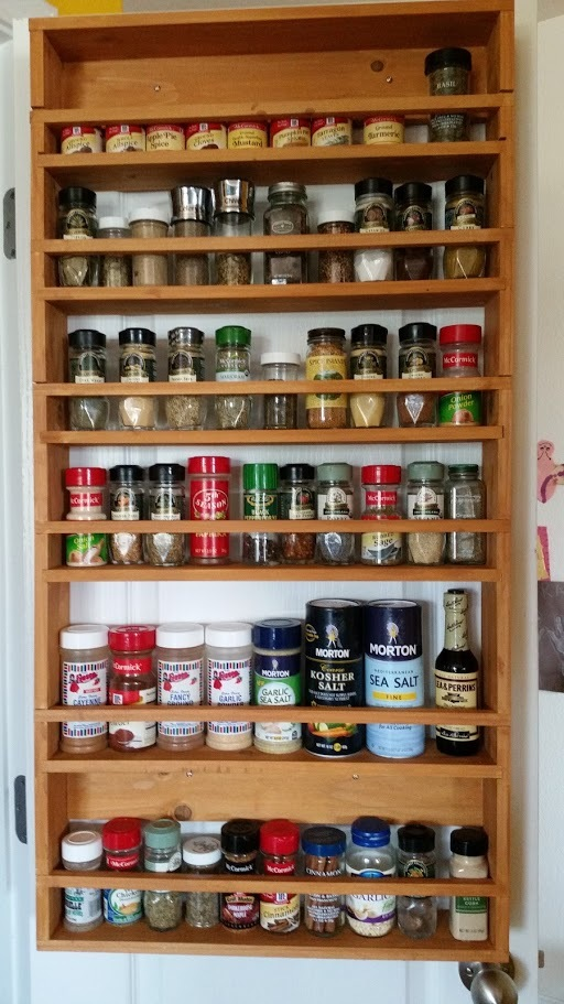 Ana White Door Spice Rack From 2x4s Diy Projects