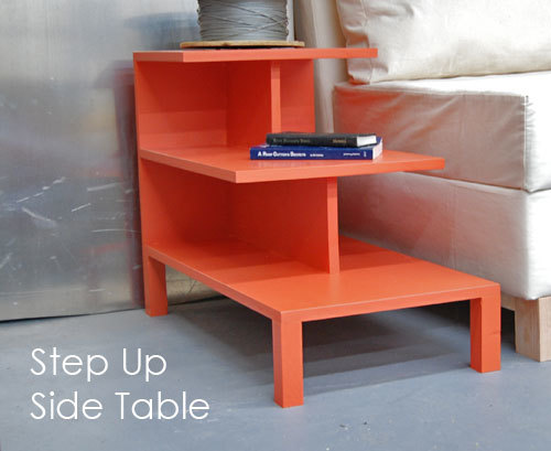 Featuring Three Shelves In Different Lengths, This Side Table Provides  Interesting Modern Storage. Works As Both A Tabletop For Placing Drinks, ...