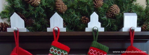 How to make West Elm Inspired Stocking Holders