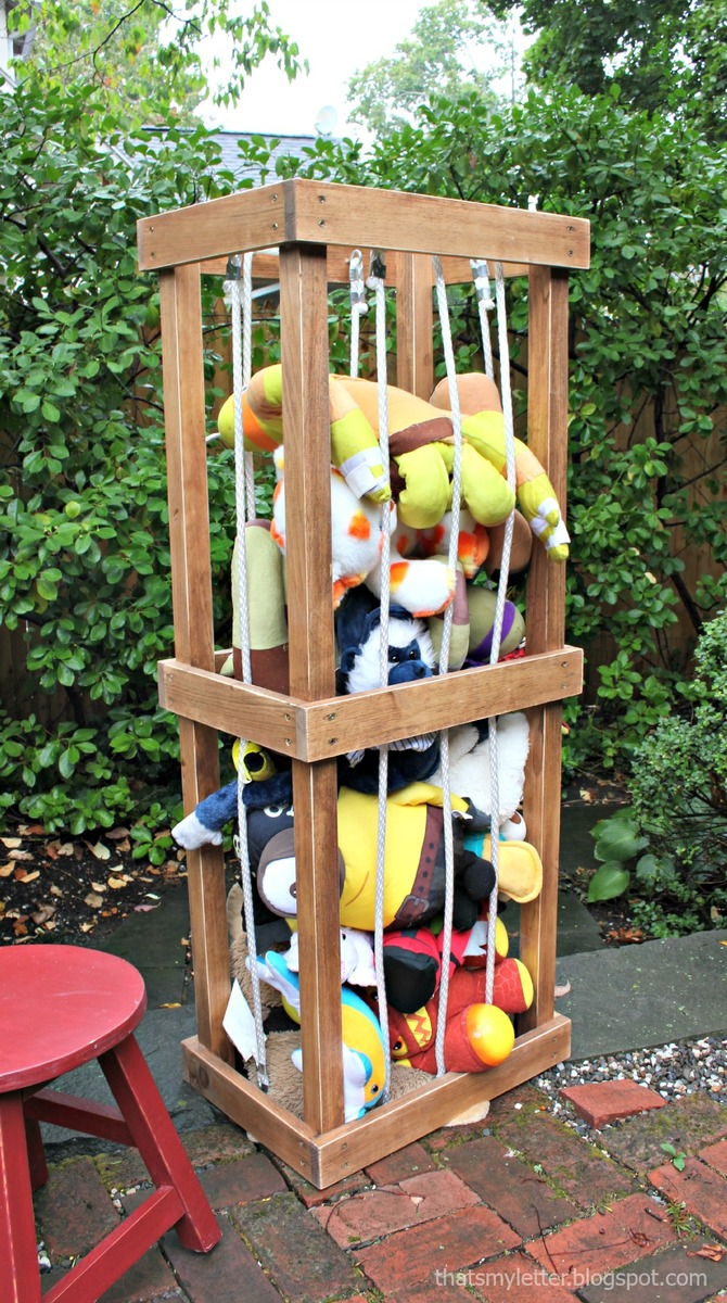 Ana white diy stuffed animal zoo tower diy projects for How to build a project plan