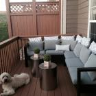 One Arm Outdoor Sectional Piece : ana white sectional - Sectionals, Sofas & Couches