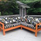 Handmade by keahunter : ana white patio sectional - Sectionals, Sofas & Couches
