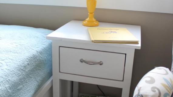 Small Dresser With Open Bottom Shelf