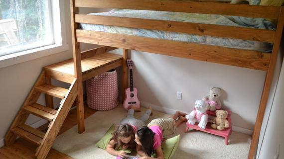 Surprising Bunk Bed Ana White Ocoug Best Dining Table And Chair Ideas Images Ocougorg