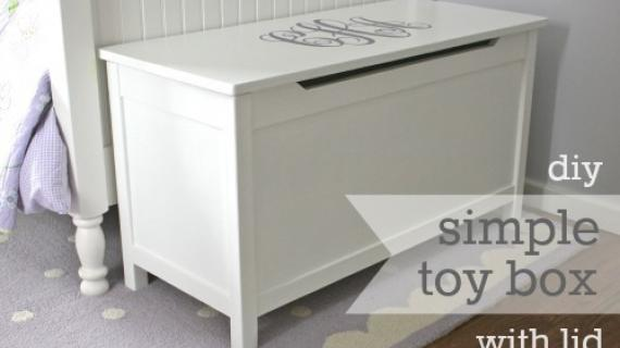 white toy box