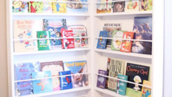 kids reading corner books