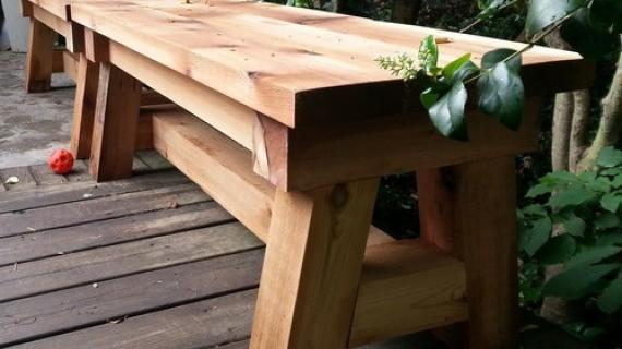 Terrific 4X4 Truss Benches Ana White Gmtry Best Dining Table And Chair Ideas Images Gmtryco