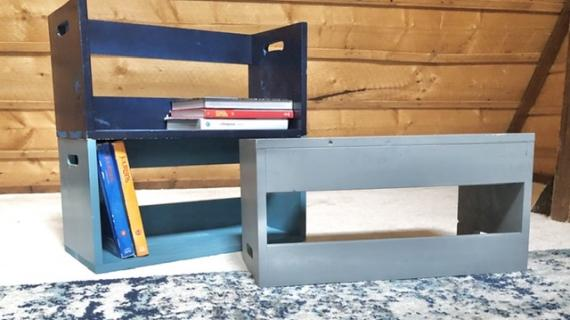 Stacking lap desks
