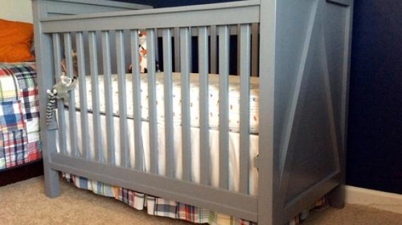 Diy Farmhouse Crib Featuring Diystinctly Made Ana White