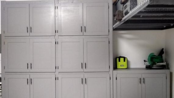 Easy And Fast Diy Garage Or Basement Shelving For Tote