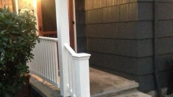 Build a Porch rail