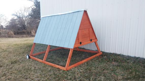 Large A Frame Chicken Coop Tractor