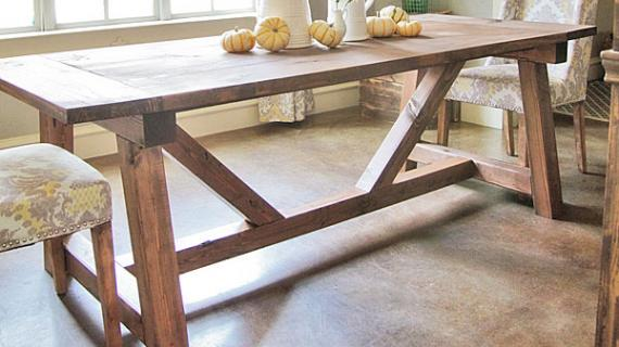 Rustic Furniture Plans Ana White