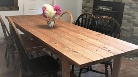 Beginner Farm Table 2 Tools 50 Lumber Ana White