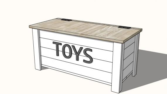 farmhouse toybox plans
