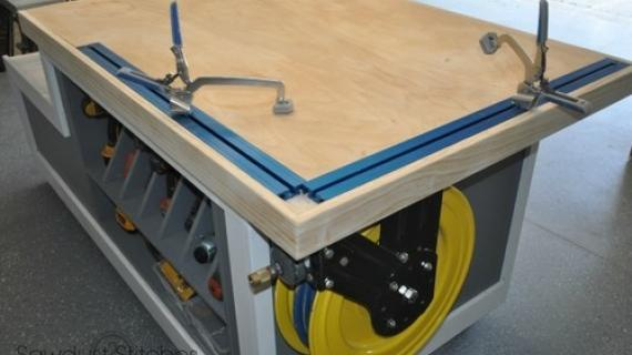 workbench with clamps plans