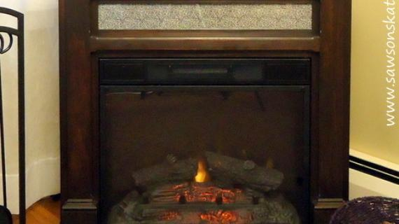 How to build an electric fireplace mantle free plans