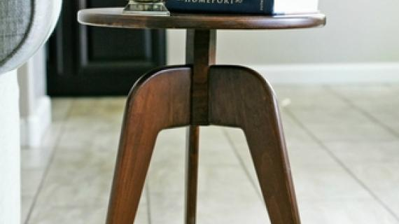 modern 3 leg end table free building plans