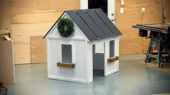 indoor playhouse free plans