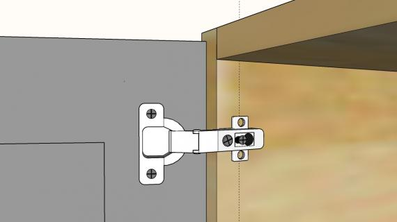 concealed hinge illustrated guide