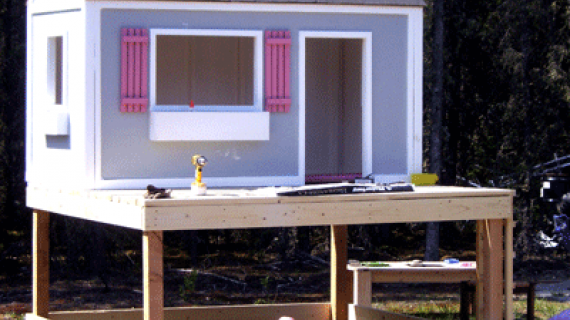 diy playhouse deck