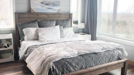modern farmhouse bed plans