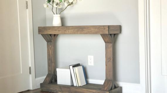 Cool Console Table Plans Ana White Home Interior And Landscaping Oversignezvosmurscom