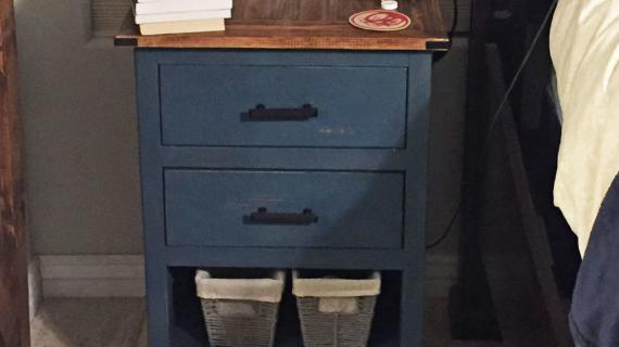 Diy 3 Drawer Nightstand Ana White