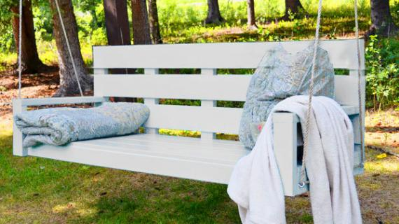 diy porch swing couch plans