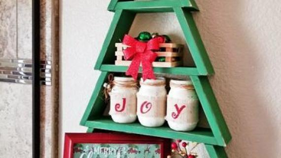 Christmas Tree Shelf Ana White