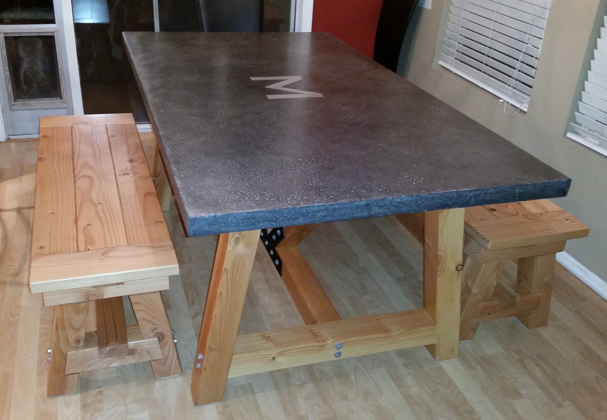 Charmant Additional Photos: About This Project. Douglas Fir 4x4 Truss Beam Table ...