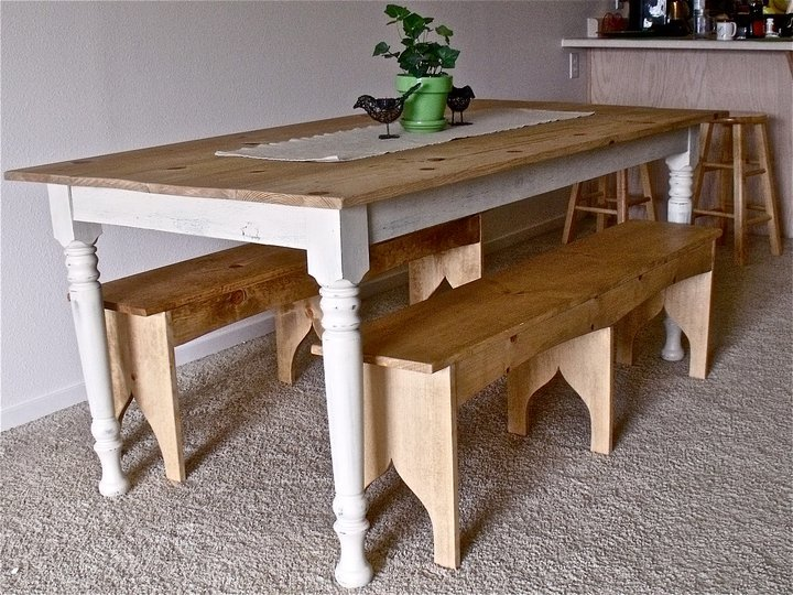 Photo Collection Primitive Dining Room Diy