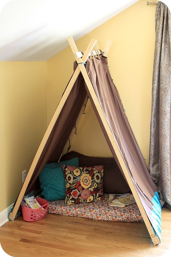 & Ana White | Easy Kidsu0027 Tent / Reading Nook - DIY Projects
