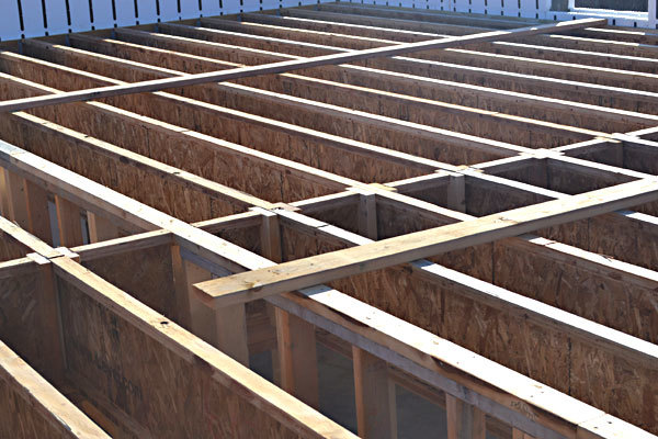 How to Install a Subfloor on Joists | Ana White