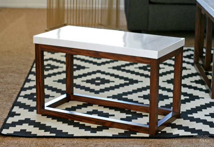 4 piece diy nesting coffee table