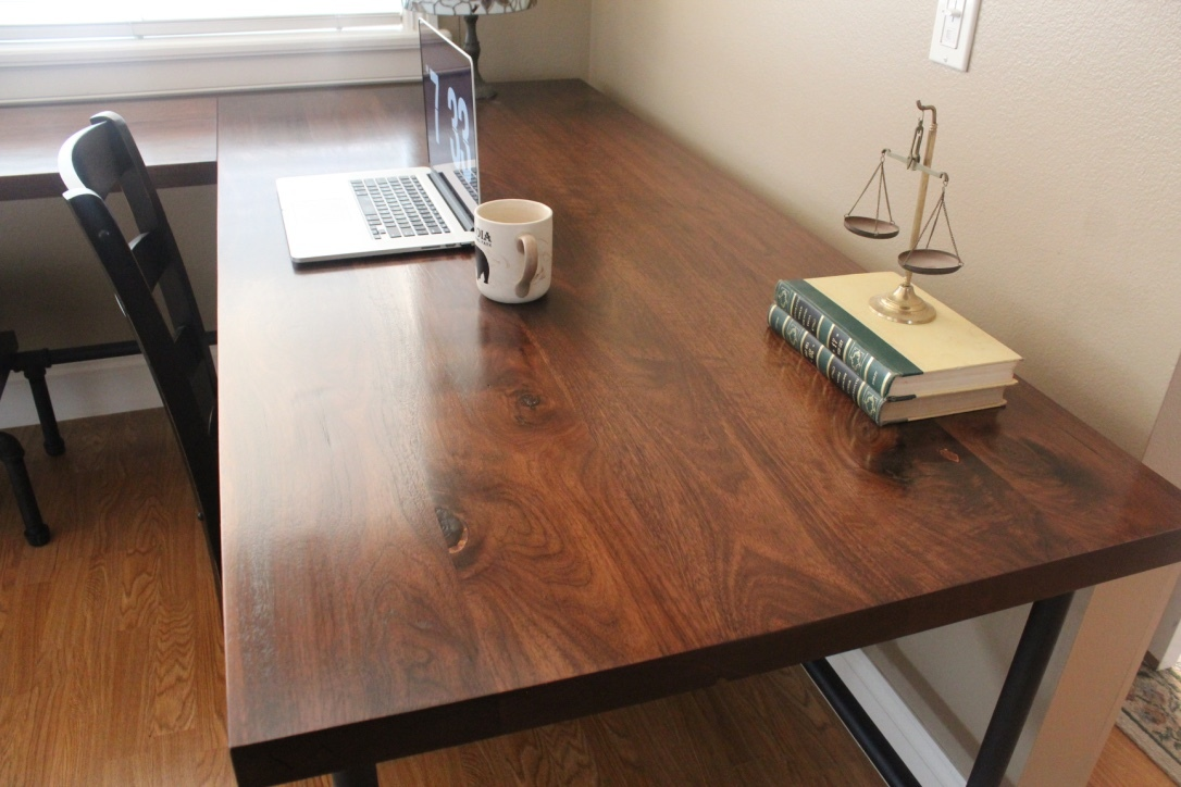 Ana white industrial desk diy projects for Industrial diy projects