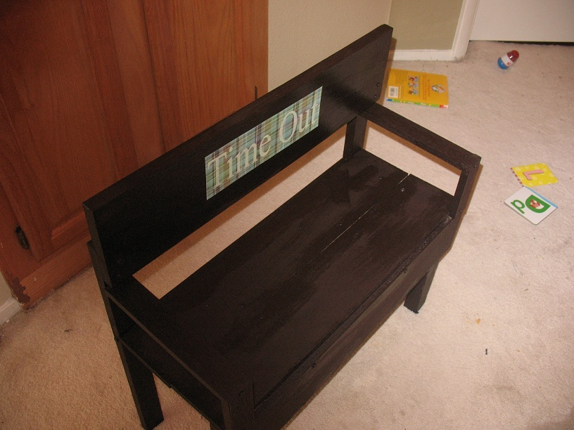 Ana White Time Out Bench Diy Projects