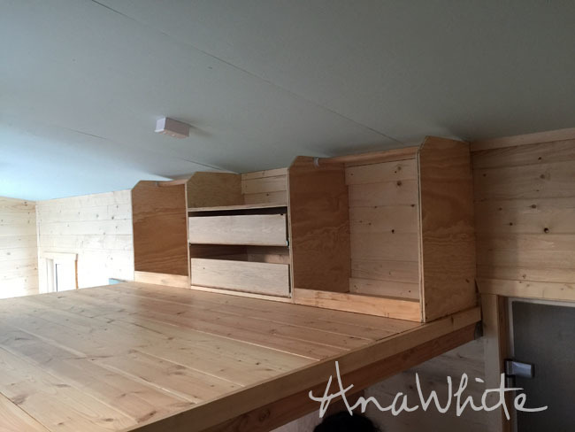 A Few Of You Have Been Asking For More Details On The Loft Closet We Built Wild Rose Tiny House