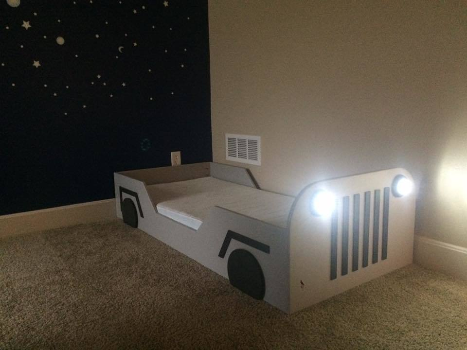 Ana White Toddler Jeep Bed Easy Diy Diy Projects