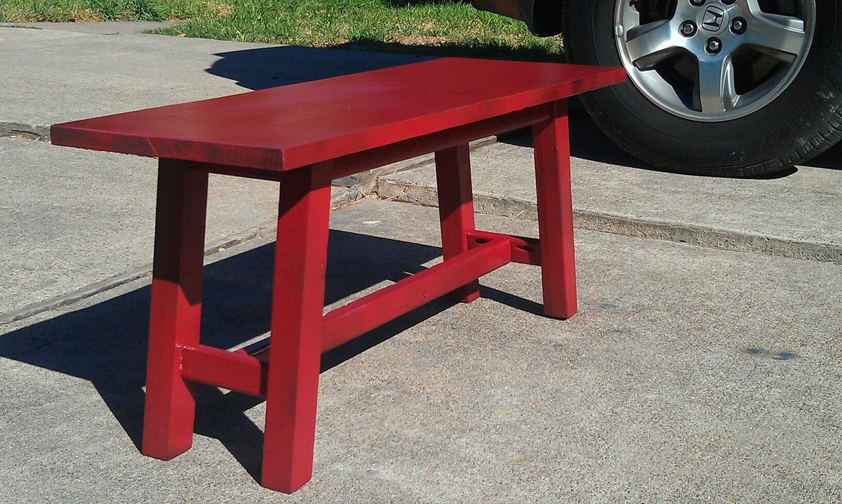 Ana White Bench For Trestle Table Diy Projects