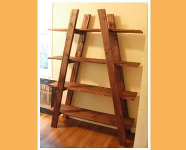 Ana white truss shelves diy projects for Build a simple bookshelf