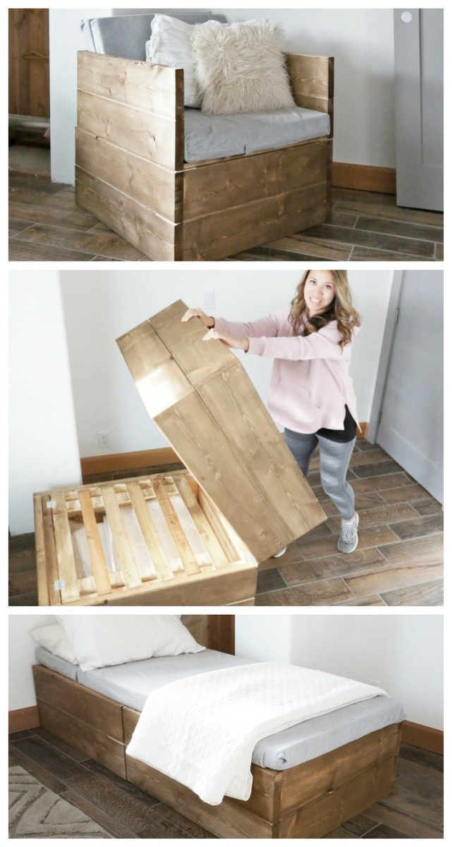Ana White | Twin Sleeper Chair - DIY Projects