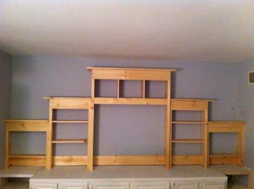 Appealing Wall Units Diy Contemporary - Simple Design Home ...