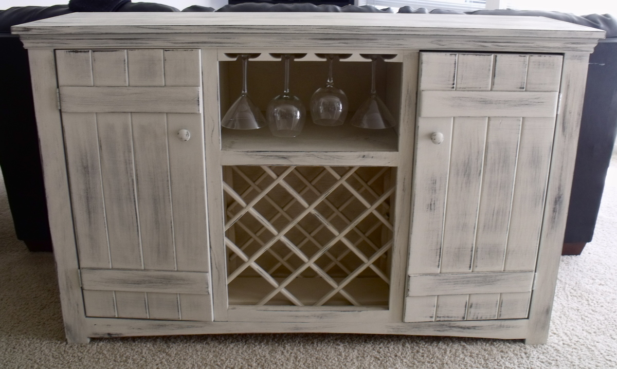 Ana white farmhouse wine buffet diy projects for Ana white x dining room table