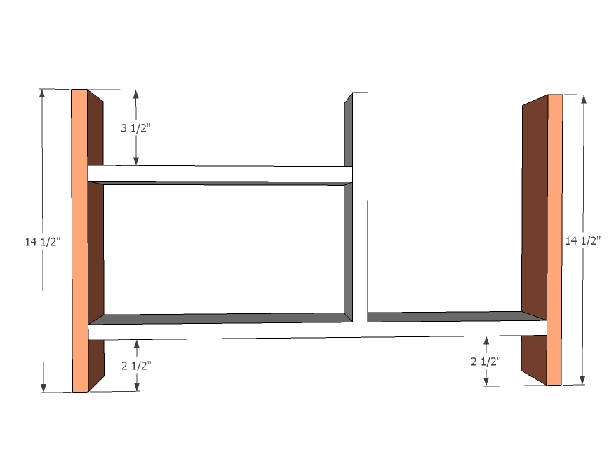Please Read All Comments When Installing The Hinge Supports   Per Reader  Comments, Depending On Your Hinge Supports, You May Need To Add Extra  Clearance For ...
